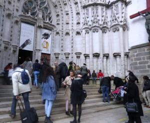 Entrée par la Porte Sainte
