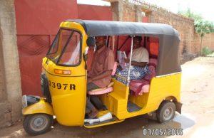 taxi moto moderne à Moundou